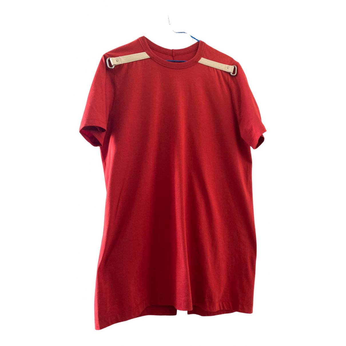 Rick Owens N Orange Cotton T-shirts for Men M International