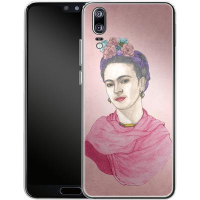 Huawei P20 Silikon Handyhuelle - Frida von Barruf