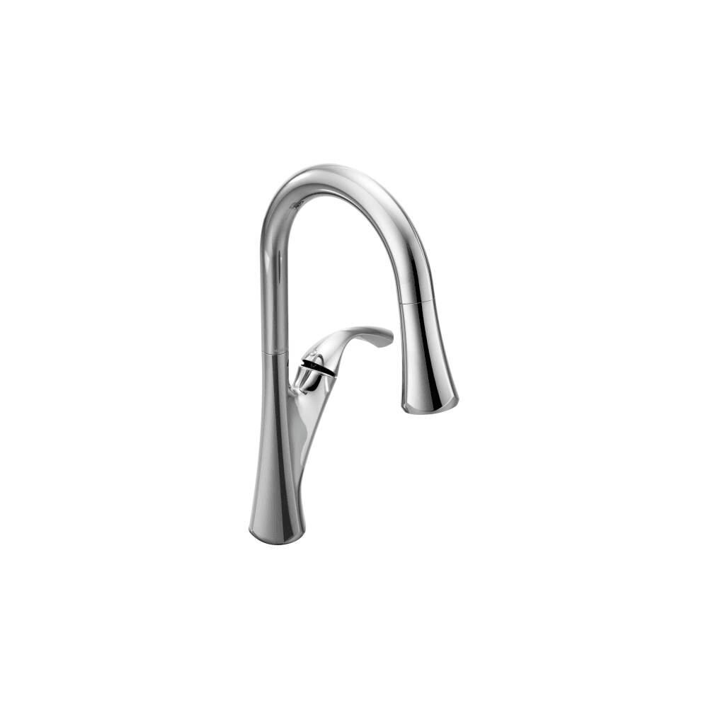 Moen 9124 Notch Pulldown Spray High Arc Kitchen Faucet with DuraLock (Oil Rubbed Bronze)