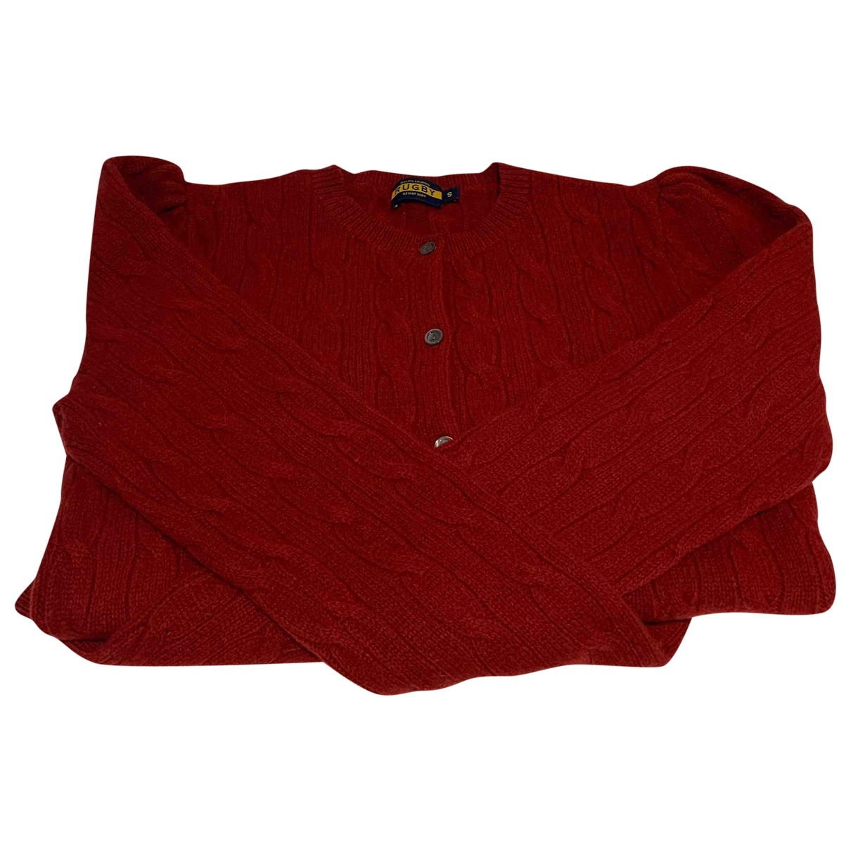 Non Signé / Unsigned \N Burgundy Wool Knitwear for Women S International