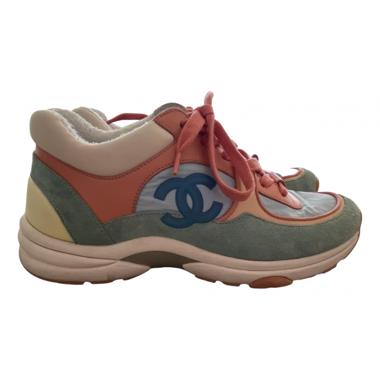 Chanel N Multicolour Suede Trainers for Women 36.5 EU