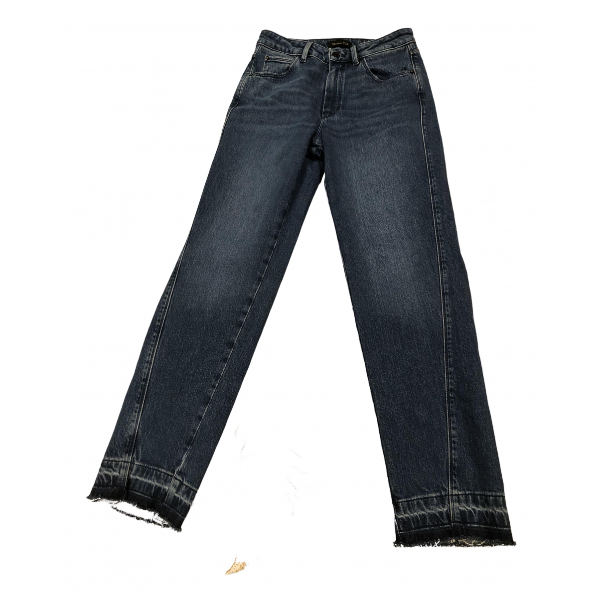 Massimo Dutti N Blue Denim - Jeans Jeans for Women 27 US
