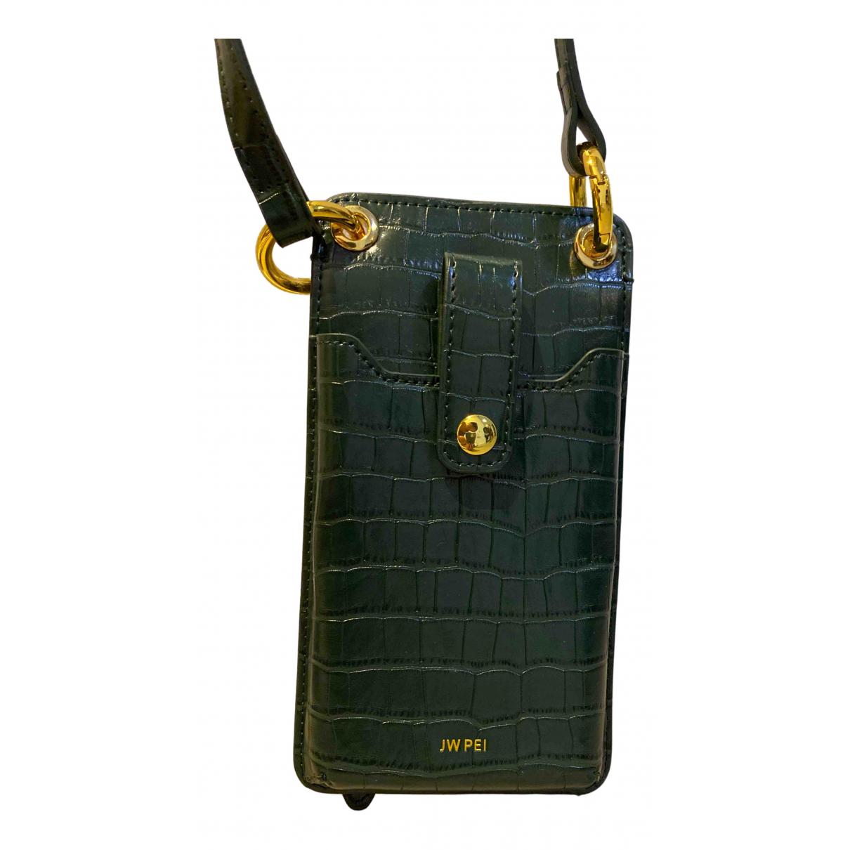 Jw Pei \N Handtasche in  Gruen Leder