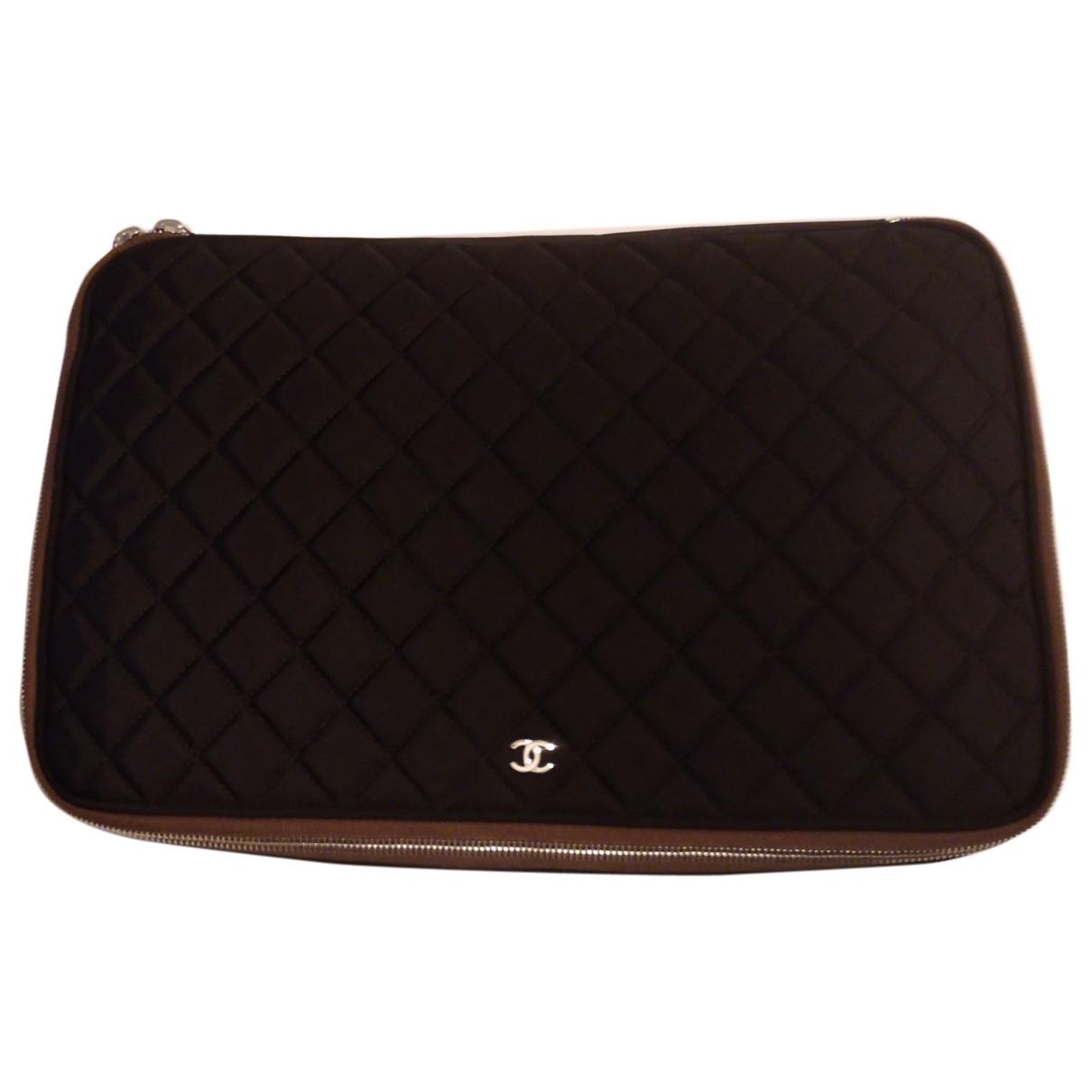 Chanel - Accessoires   pour lifestyle en toile - noir