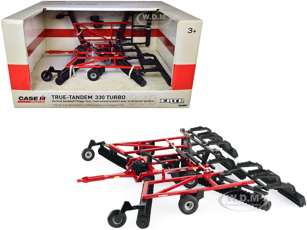Case IH True-Tandem 330 Turbo Vertical Seedbed Tillage Disc with Folding Wings