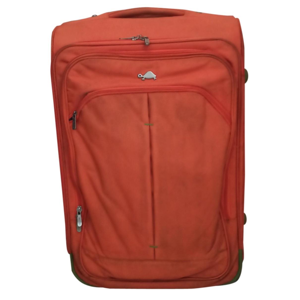 - Sac de voyage   pour femme en coton - orange