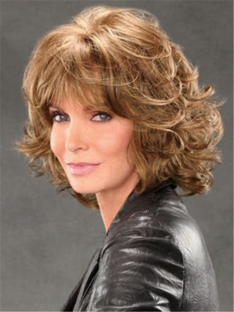 Ericdress Mid-length Shag with Spiral Curls Capless Synthetic Wig 12 Inches