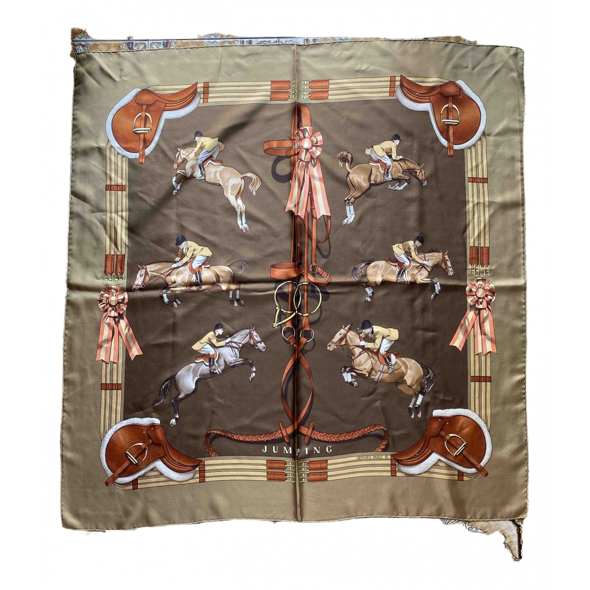 Hermès Carré 90 Silk Silk handkerchief for Women \N