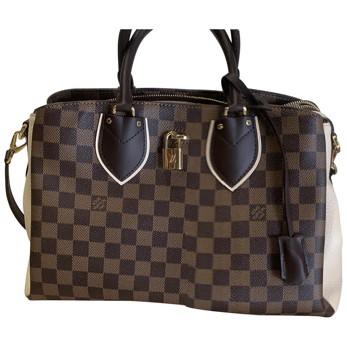 Louis Vuitton Normandy Handtasche in  Braun Leinen