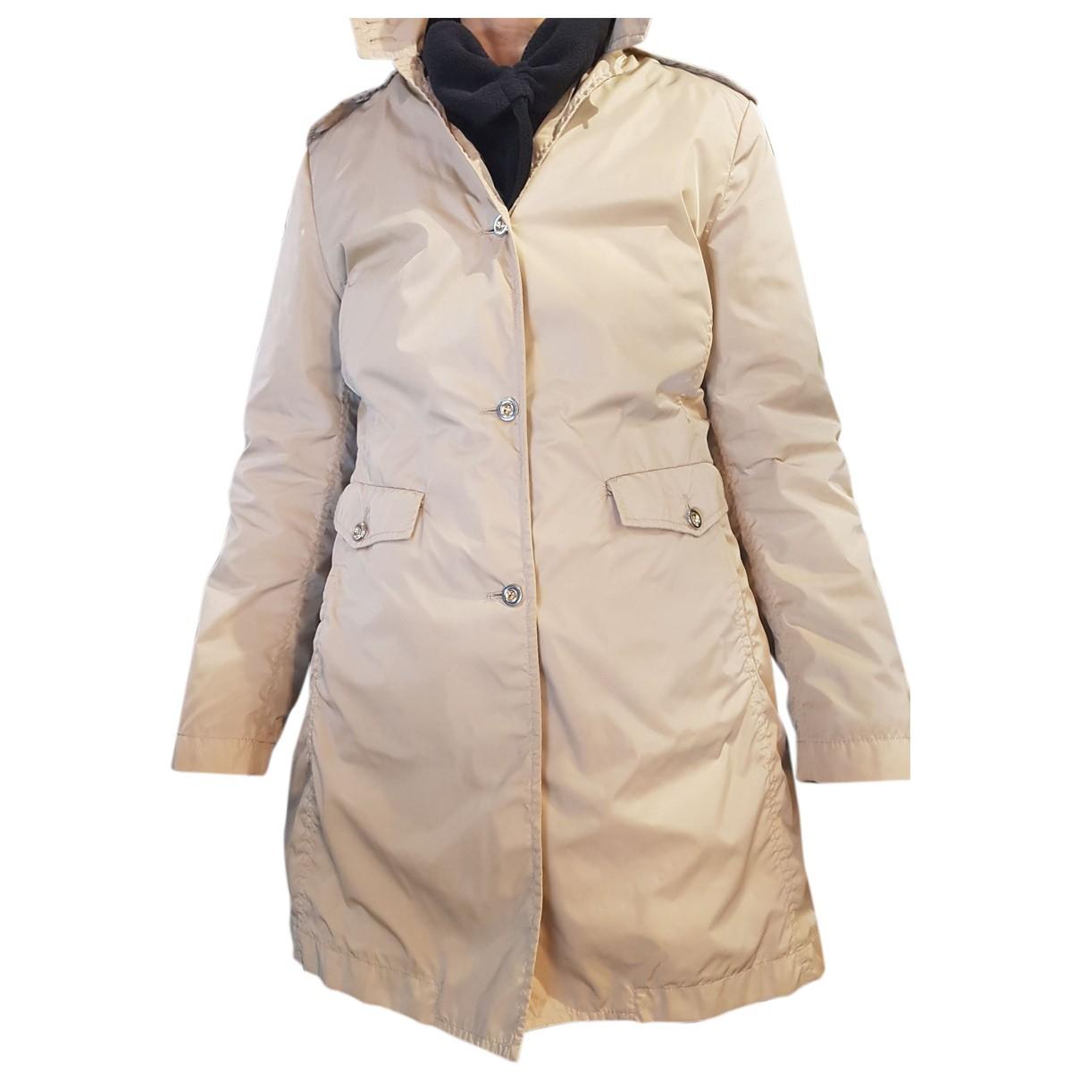 Fay N Beige coat for Women 46 IT