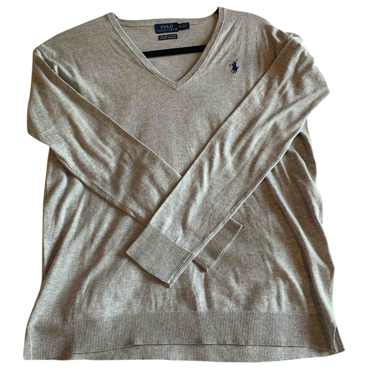 Polo Ralph Lauren \N Grey Cotton Knitwear for Women 8 UK