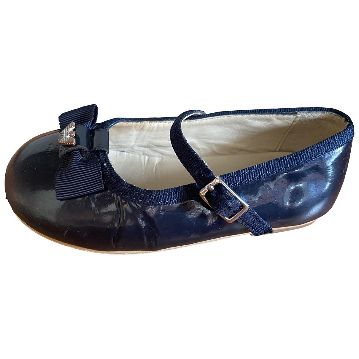 Armani Baby - Sandales   pour enfant en cuir - bleu