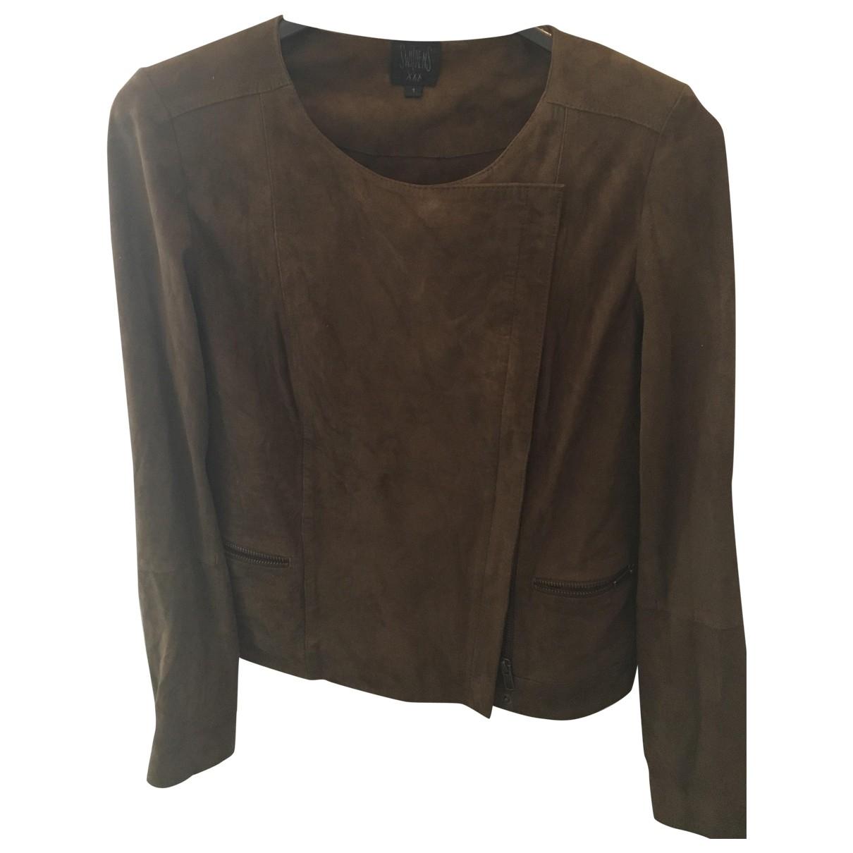 Swildens \N Brown Denim - Jeans jacket for Women 36 FR