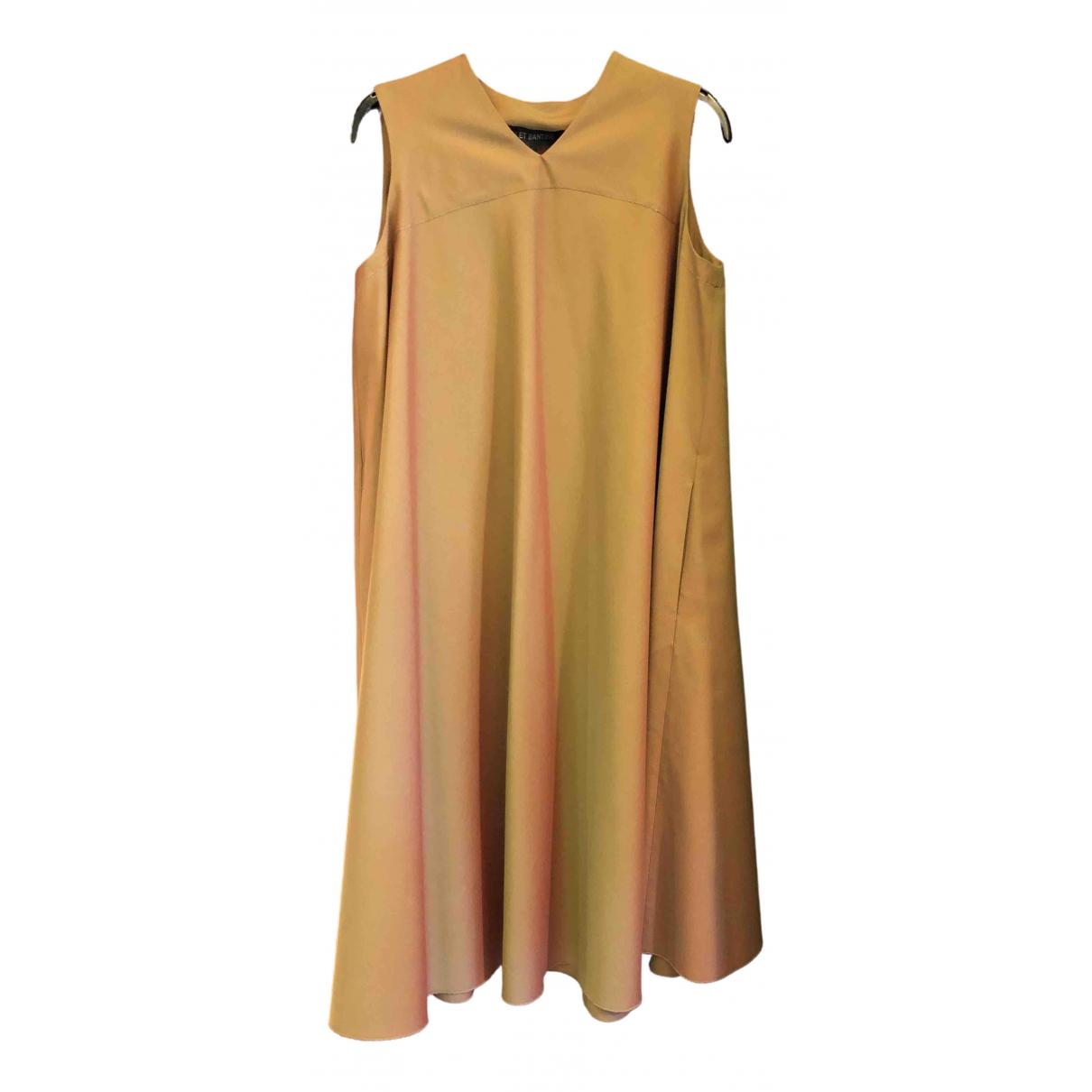Ter Et Bantine \N Kleid in  Gold Baumwolle