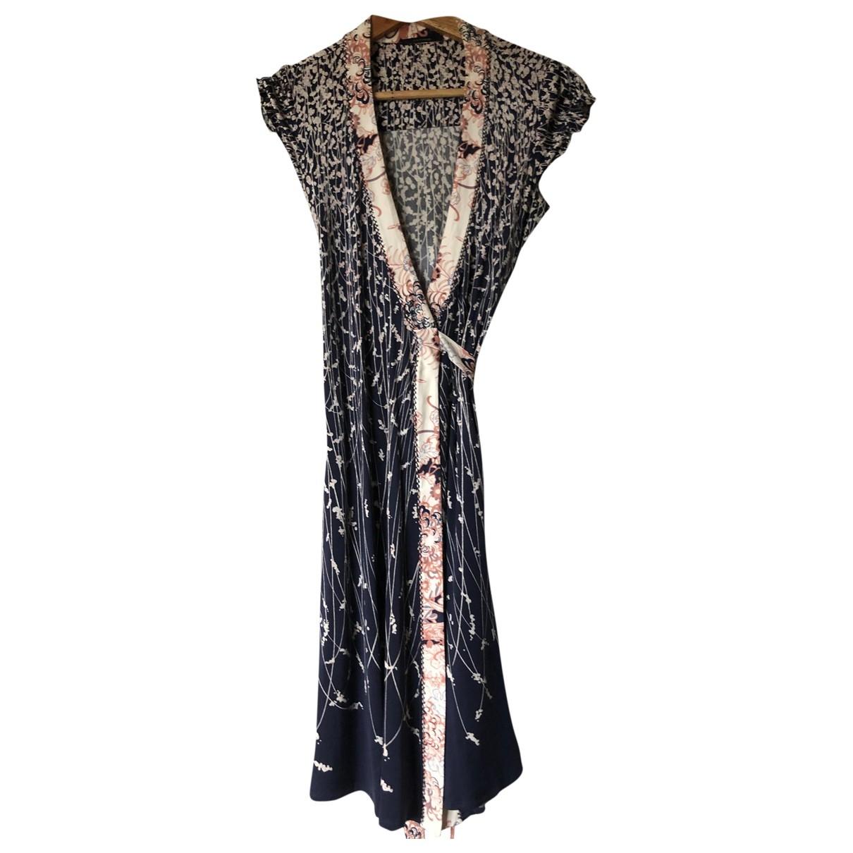 Elie Tahari - Robe   pour femme en soie - bleu