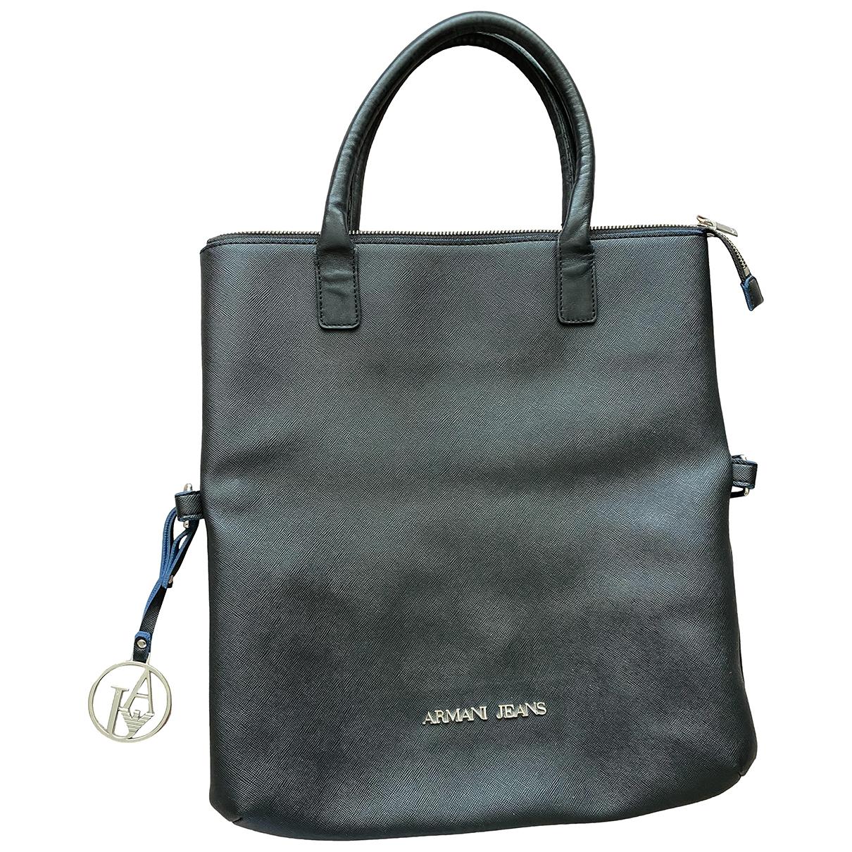 Armani Jeans \N Black handbag for Women \N