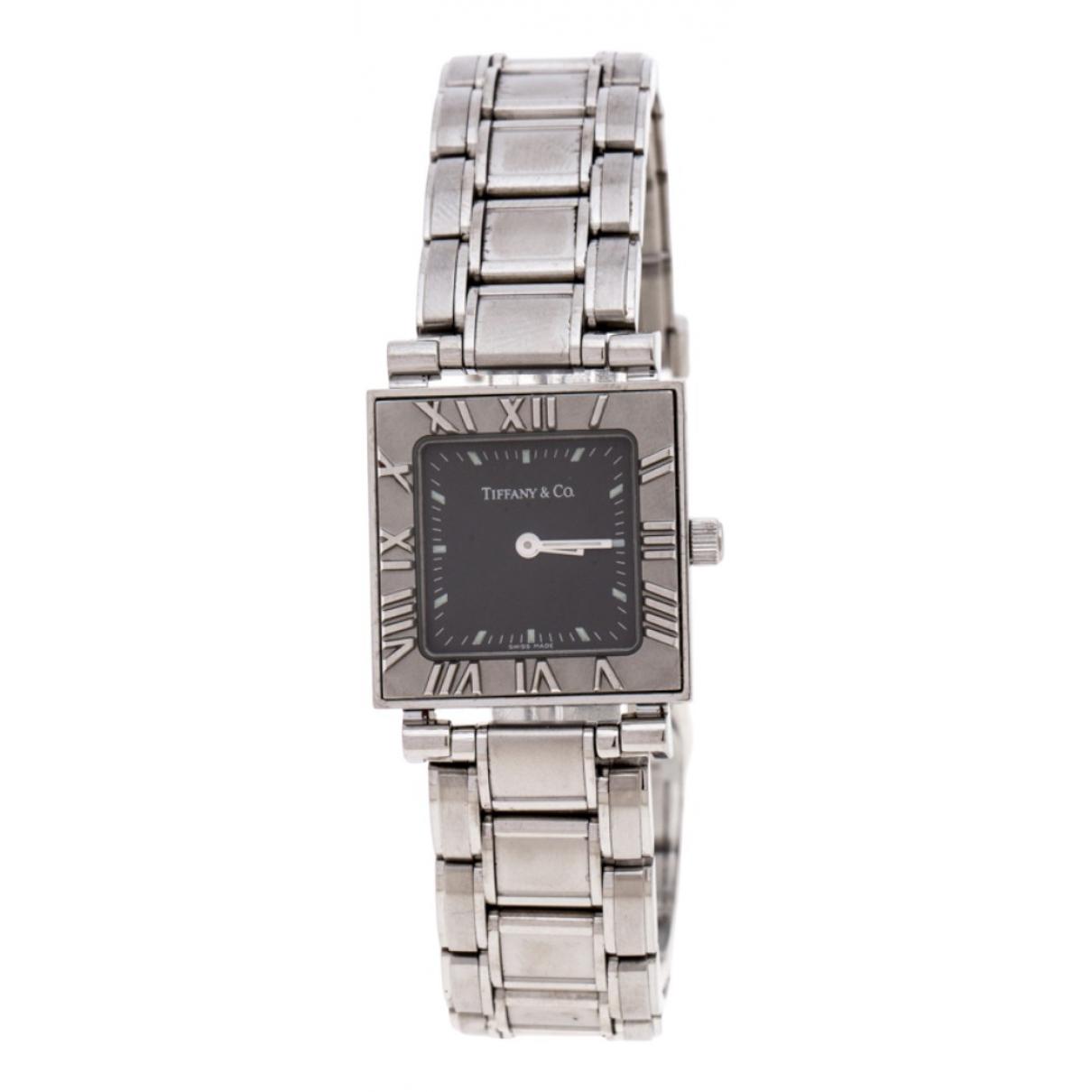 Tiffany & Co \N Grey Steel watch for Women \N