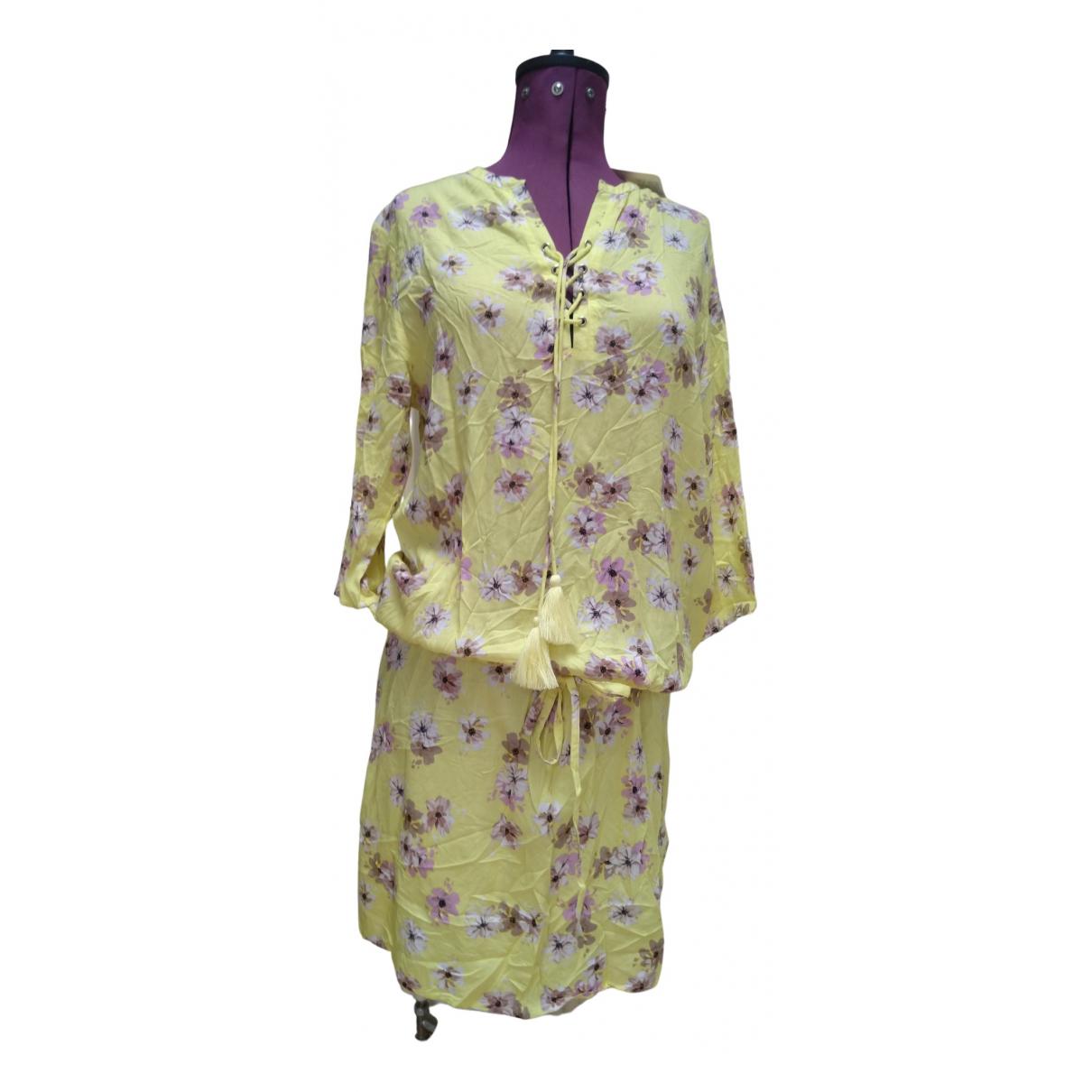Charlotte Sparre \N Kleid in  Gelb Viskose