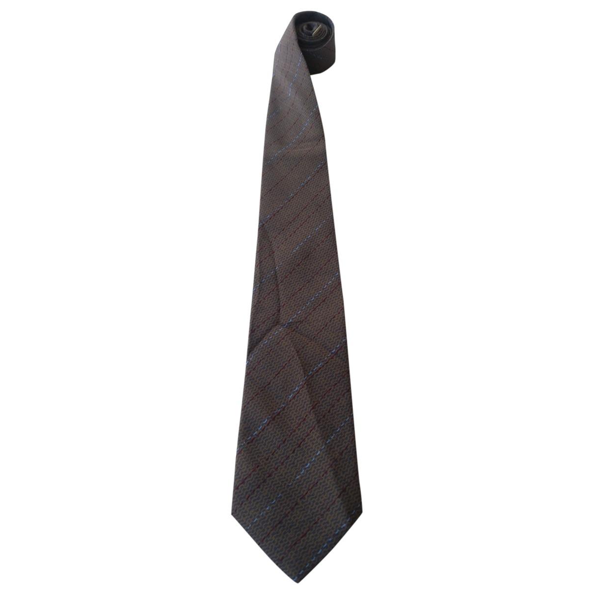 Missoni \N Krawatten in  Braun Seide