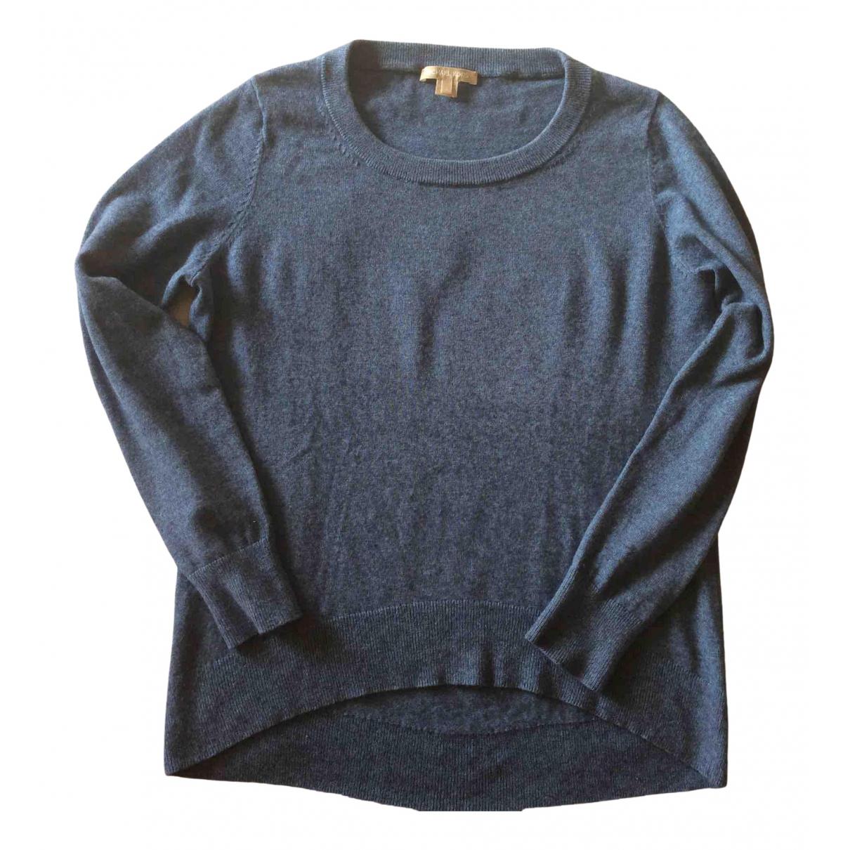 Michael Kors - Pull   pour femme en cachemire - bleu