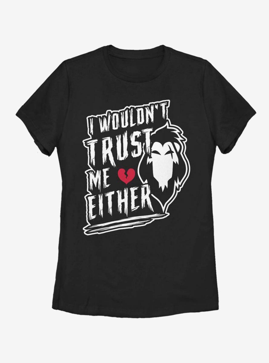 Disney The Lion King Never Trust Scar Womens T-Shirt