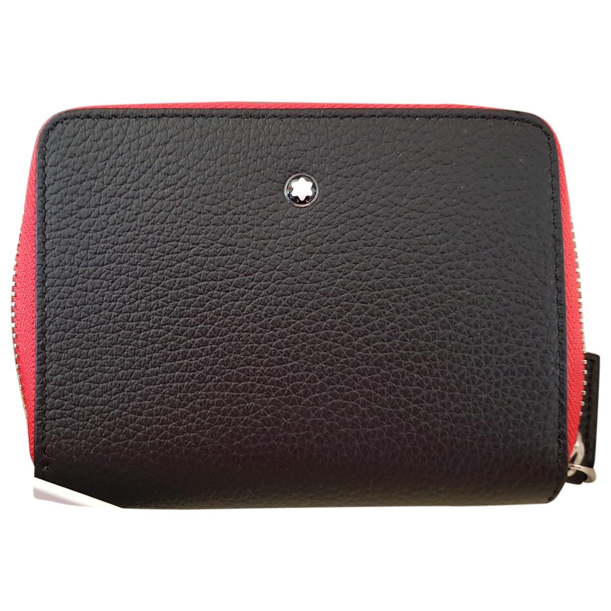 Montblanc - Portefeuille   pour femme en cuir - multicolore