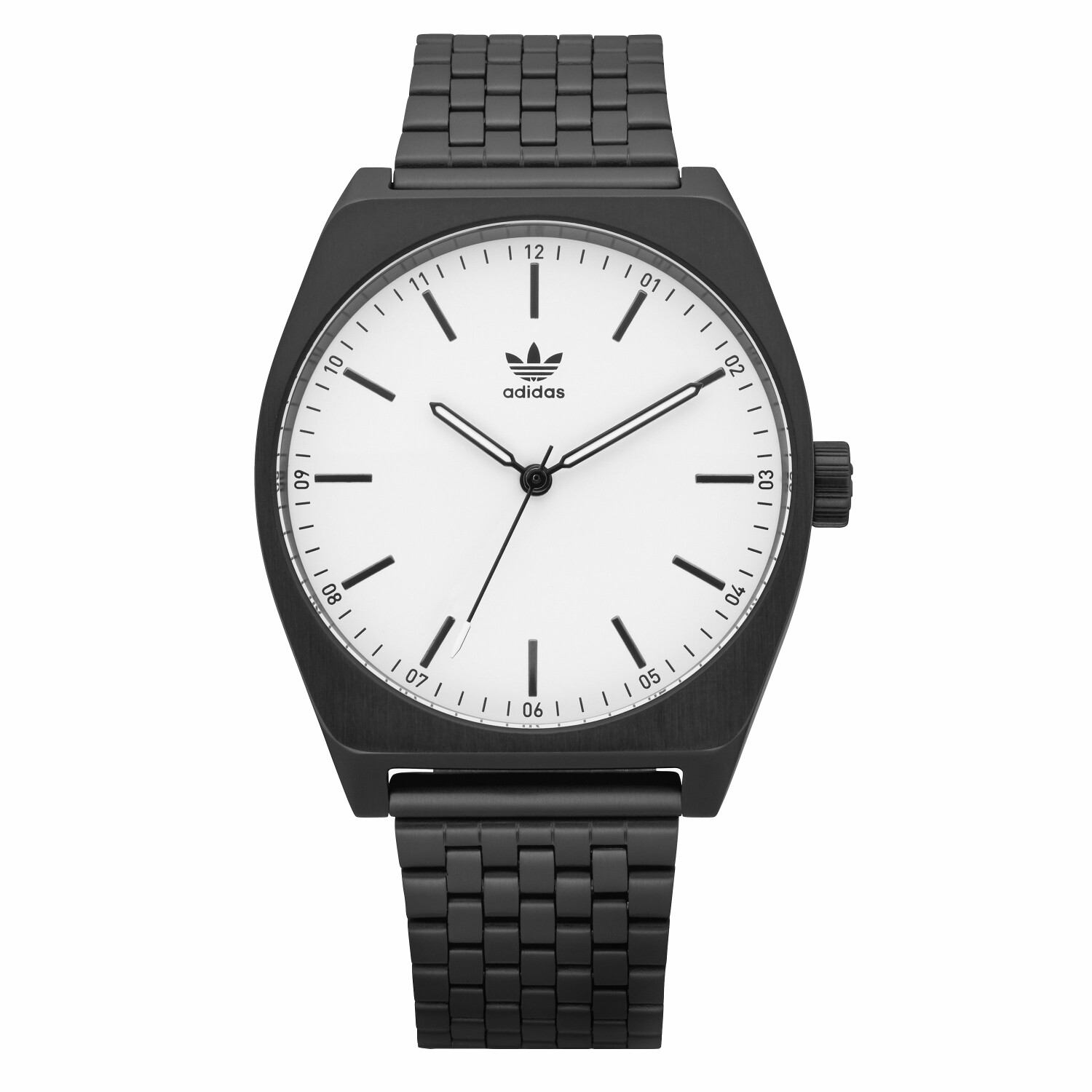 Adidas Mens Process M1 Z02 005-00 Black Stainless-Steel Quartz Fashion Watch