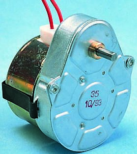 Crouzet Synchronous AC Geared Motor, Anti Clockwise, 230 V ac, 1/12 rpm, 3 W