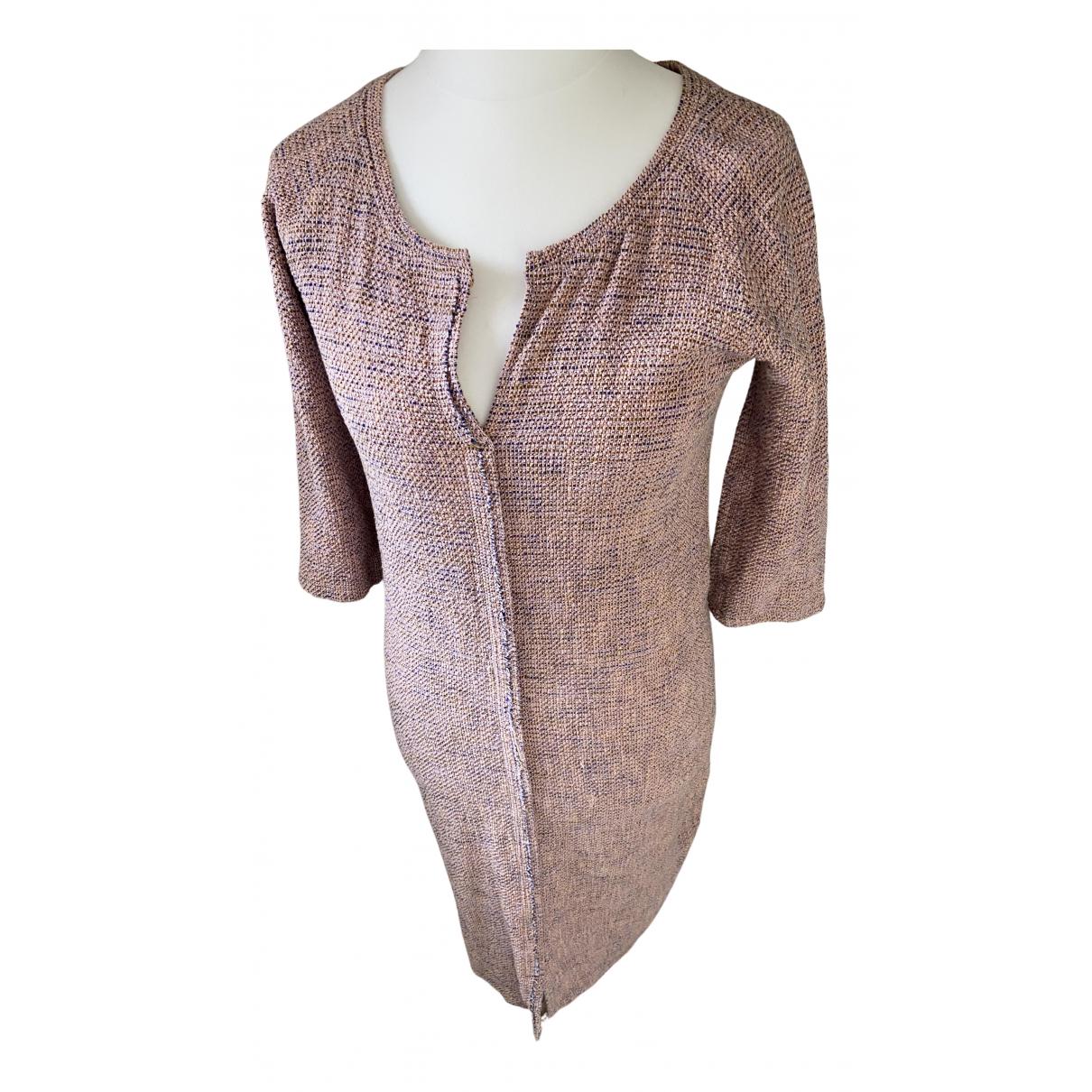 Humanoid \N Kleid in  Rosa Baumwolle
