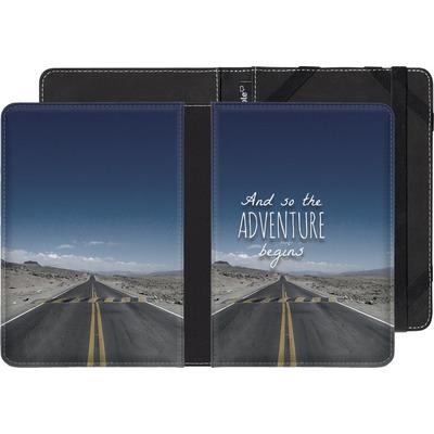 tolino shine eBook Reader Huelle - And so the Adventure Begins von Joel Perroden