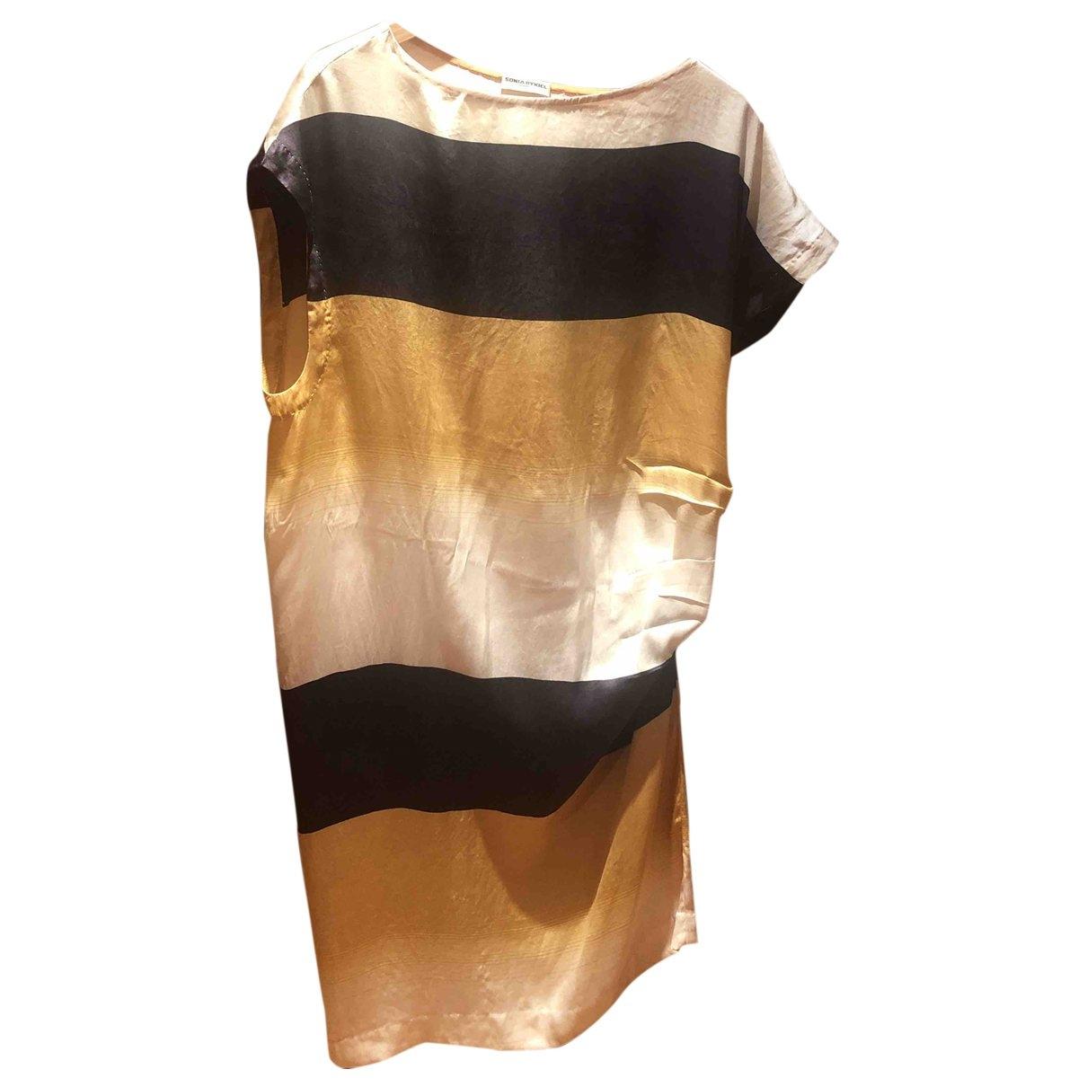 Sonia Rykiel \N Multicolour Silk dress for Women 38 FR