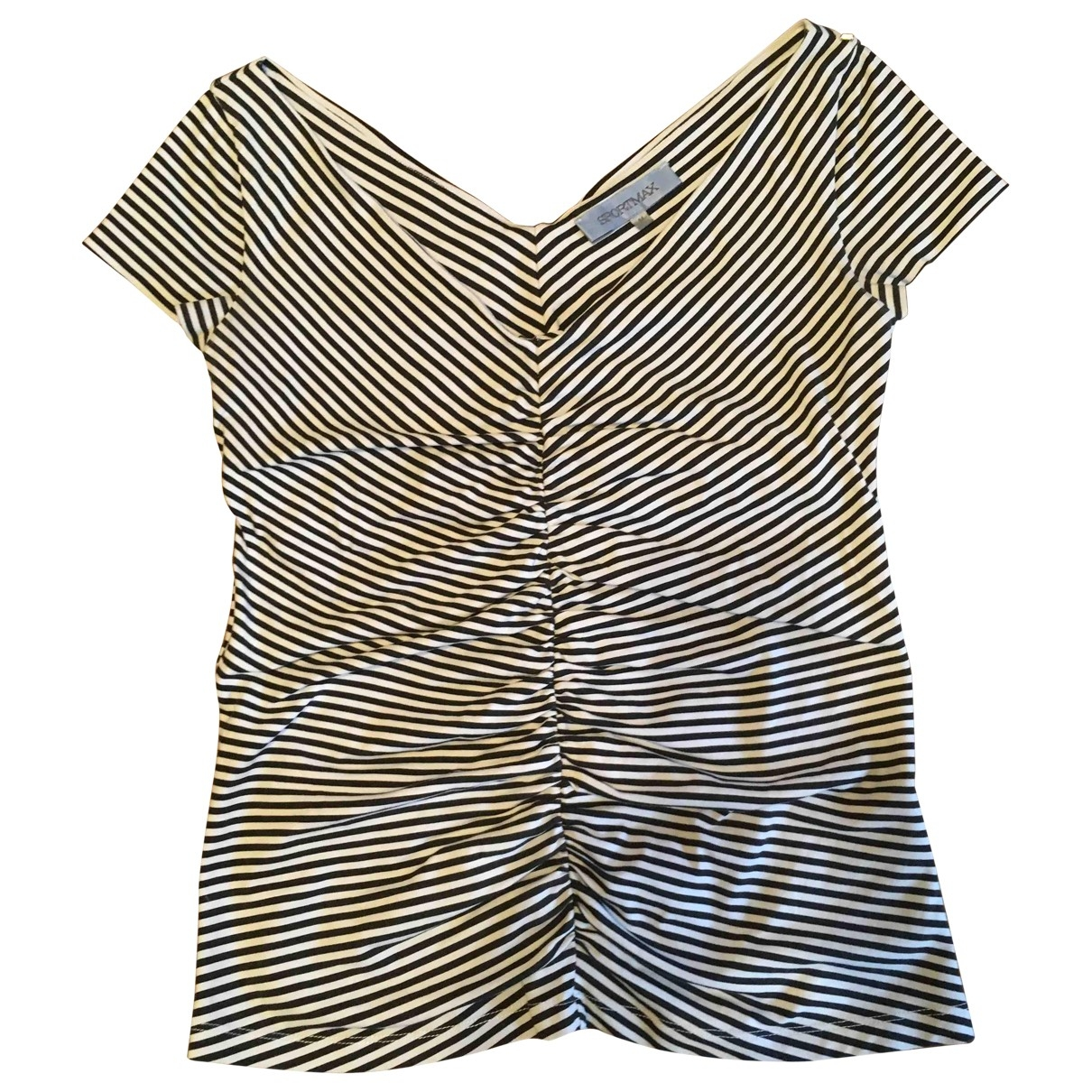 Sport Max \N Cotton  top for Women 10 UK