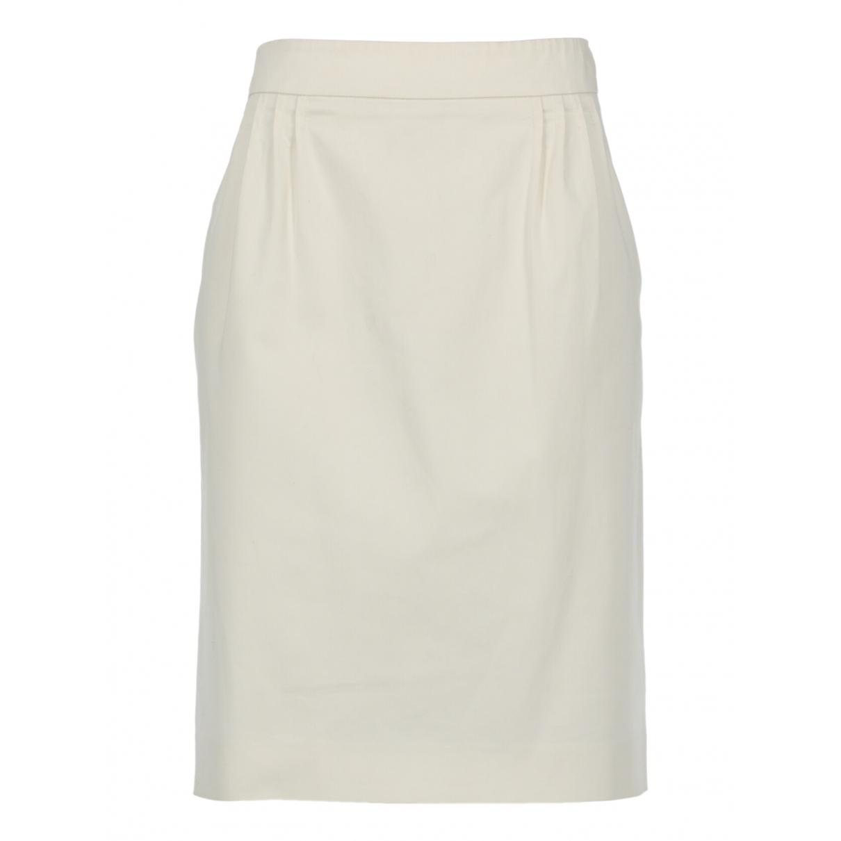 Philosophy H1h2 - Jupe   pour femme en coton - blanc