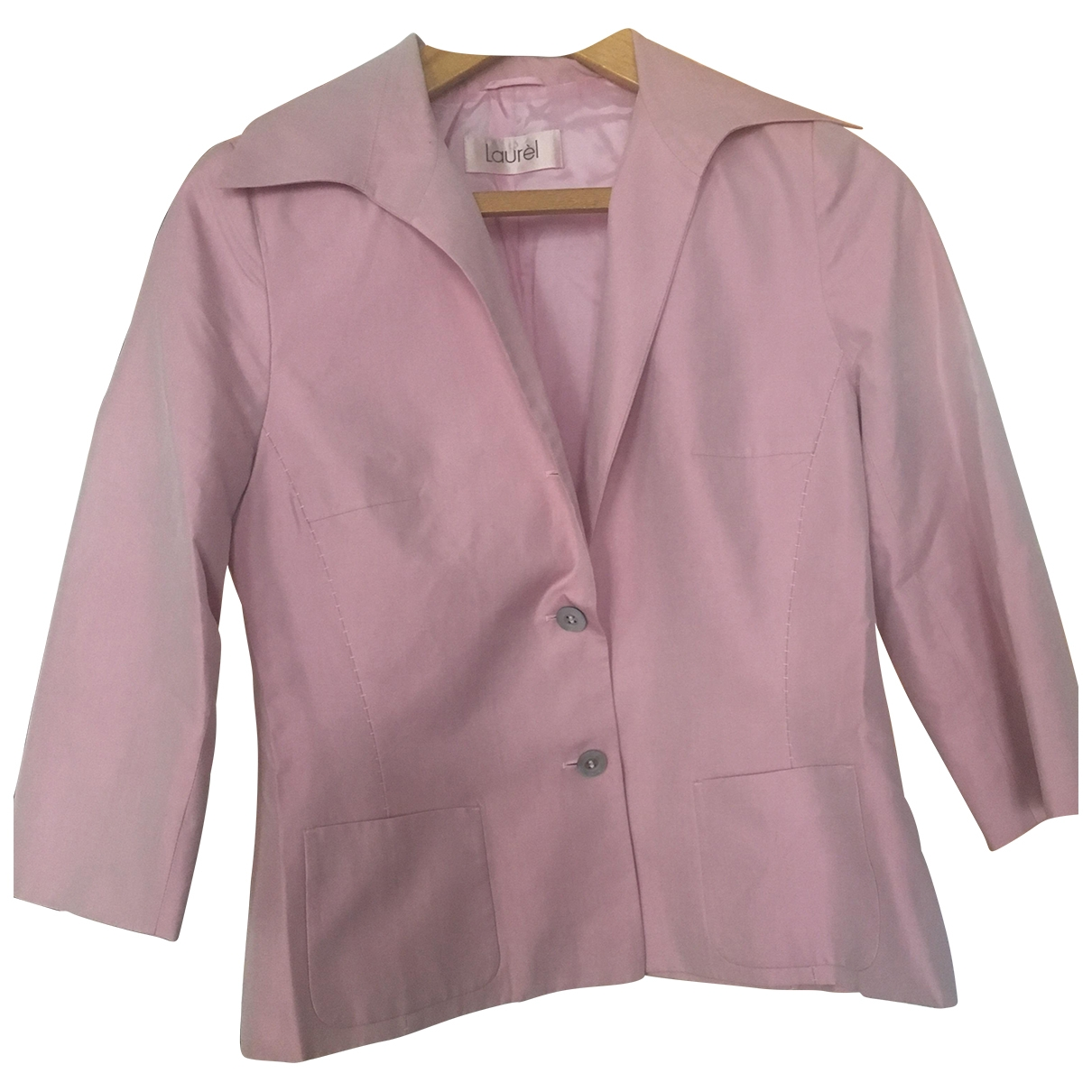 Laurel \N Pink Cotton jacket for Women 40 FR