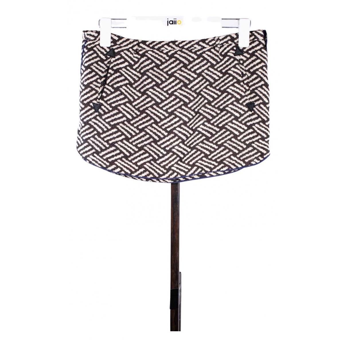 Ba&sh - Jupe   pour femme en coton - marron