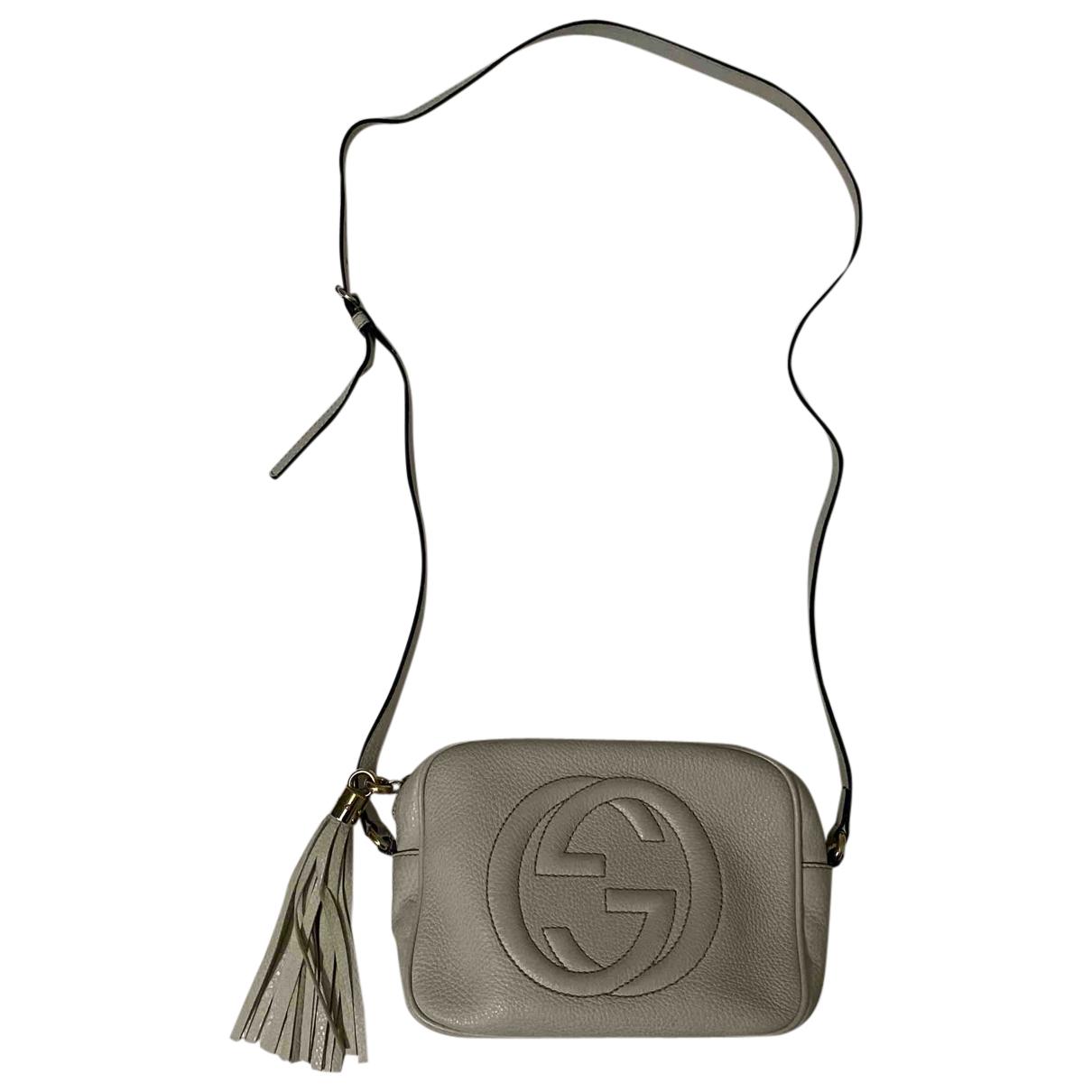 Gucci Soho White Leather handbag for Women \N