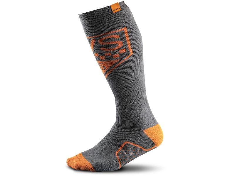 EVS MSOCKCI-O-S/M Circuit Orange Moto Socks S/M