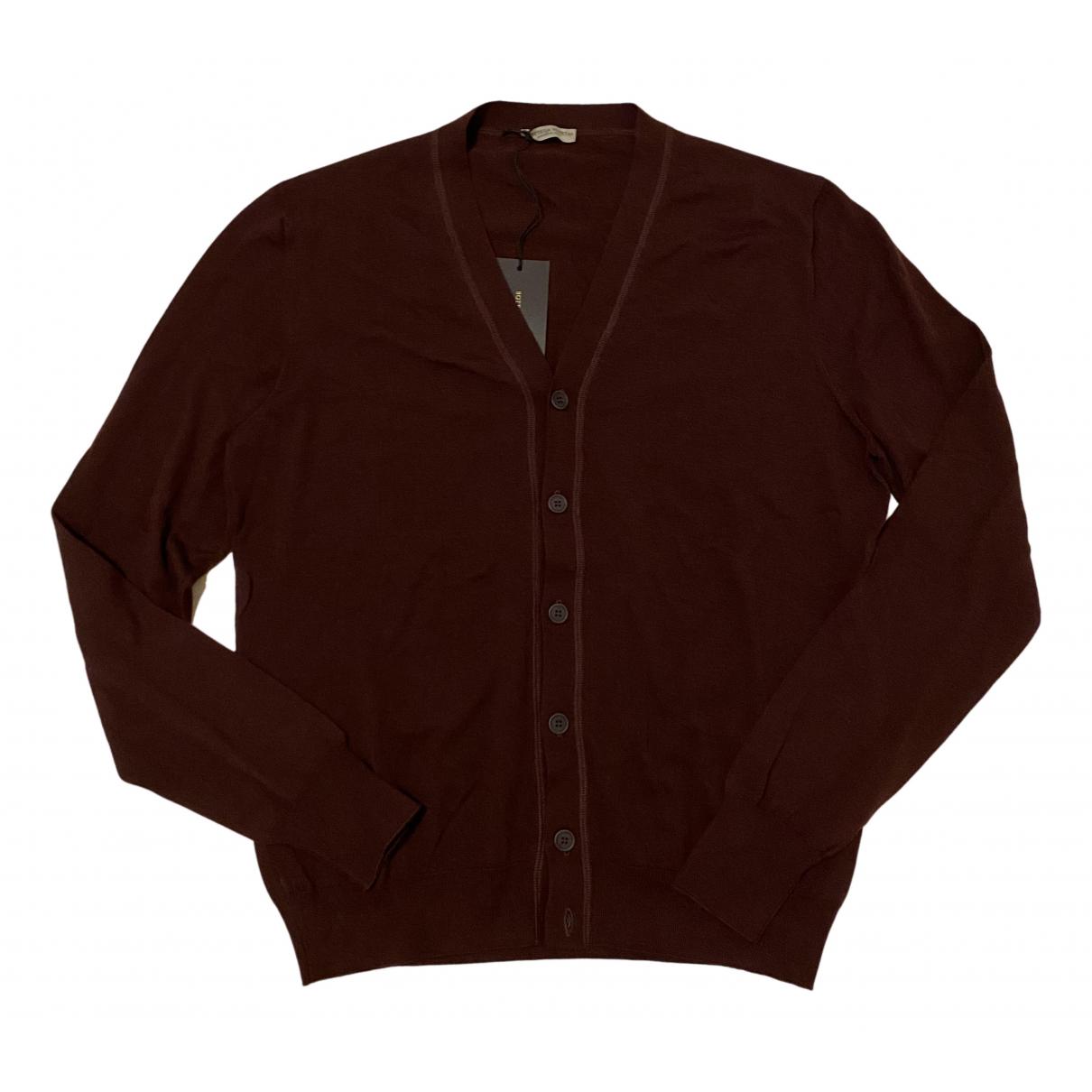 Bottega Veneta \N Pullover.Westen.Sweatshirts  Bordeauxrot