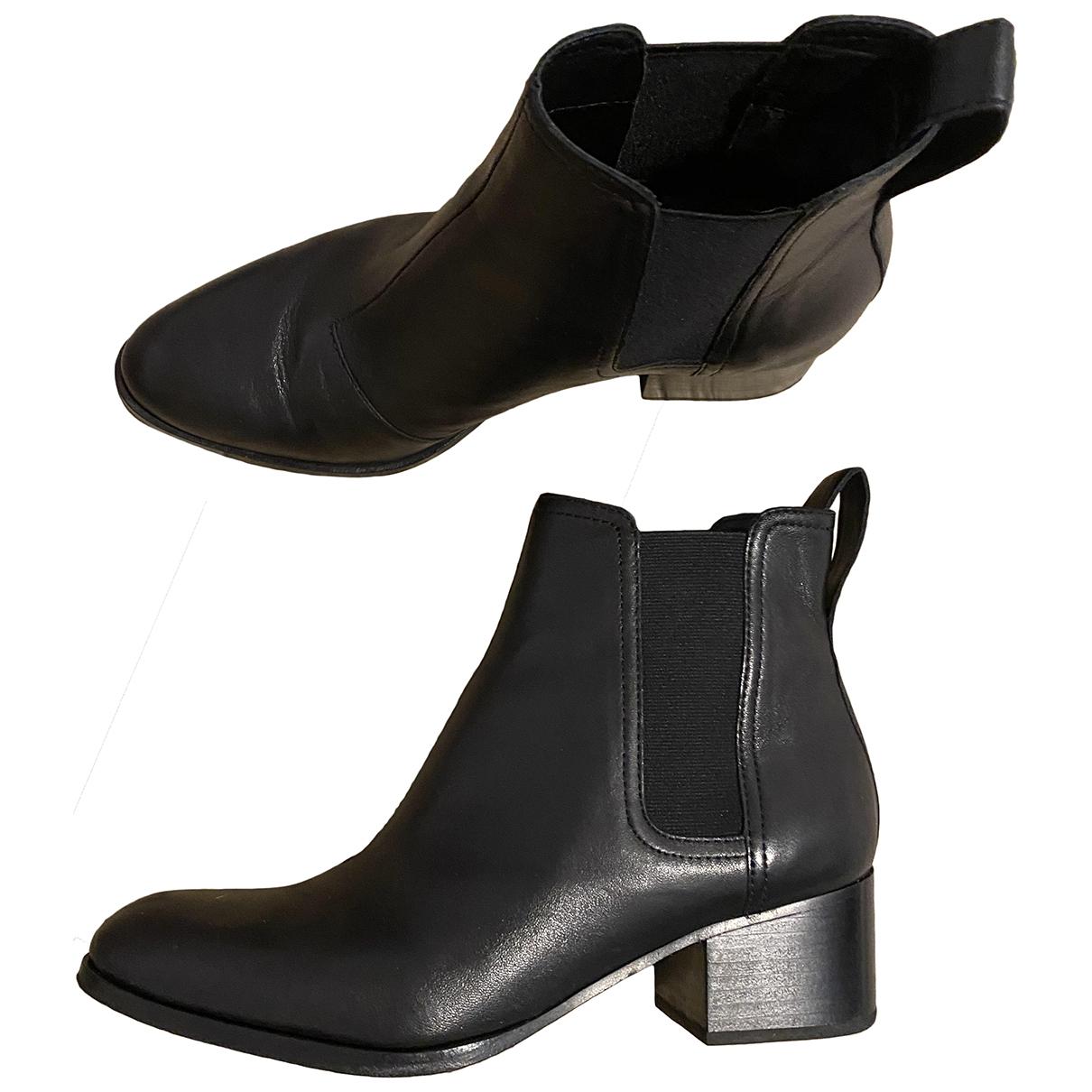 Rag & Bone N Black Leather Boots for Women 7.5 US