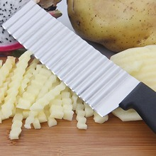 Stainless Steel Potato Wave Knife