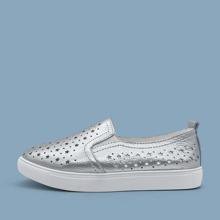 Slip On Sneakers mit hohlem Design