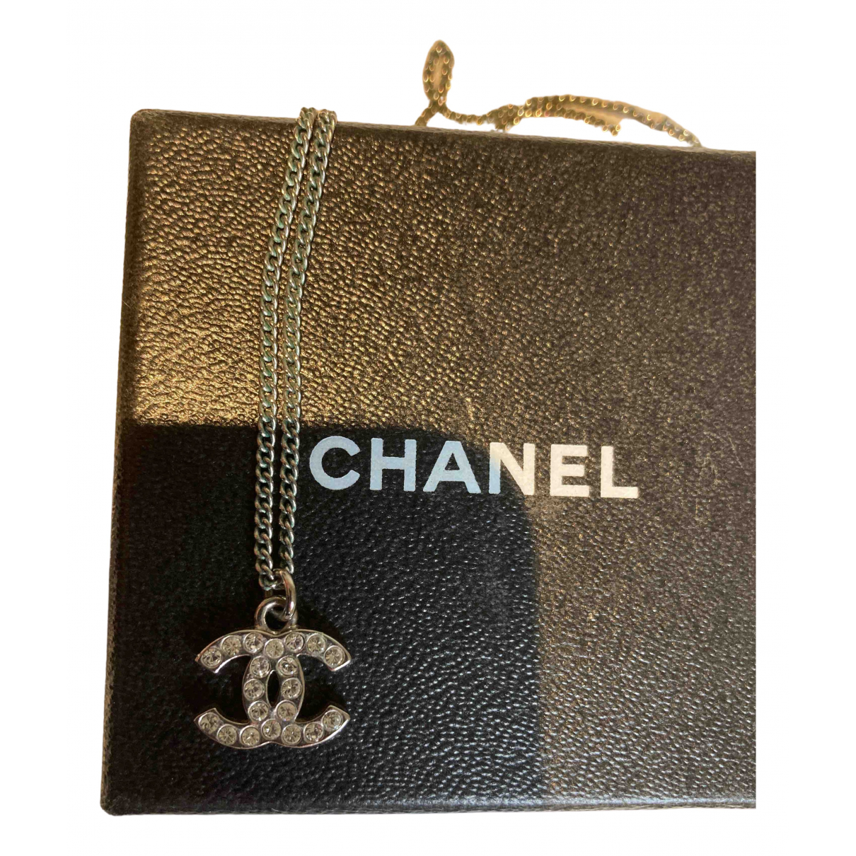 Chanel CHANEL Kette in  Silber Metall