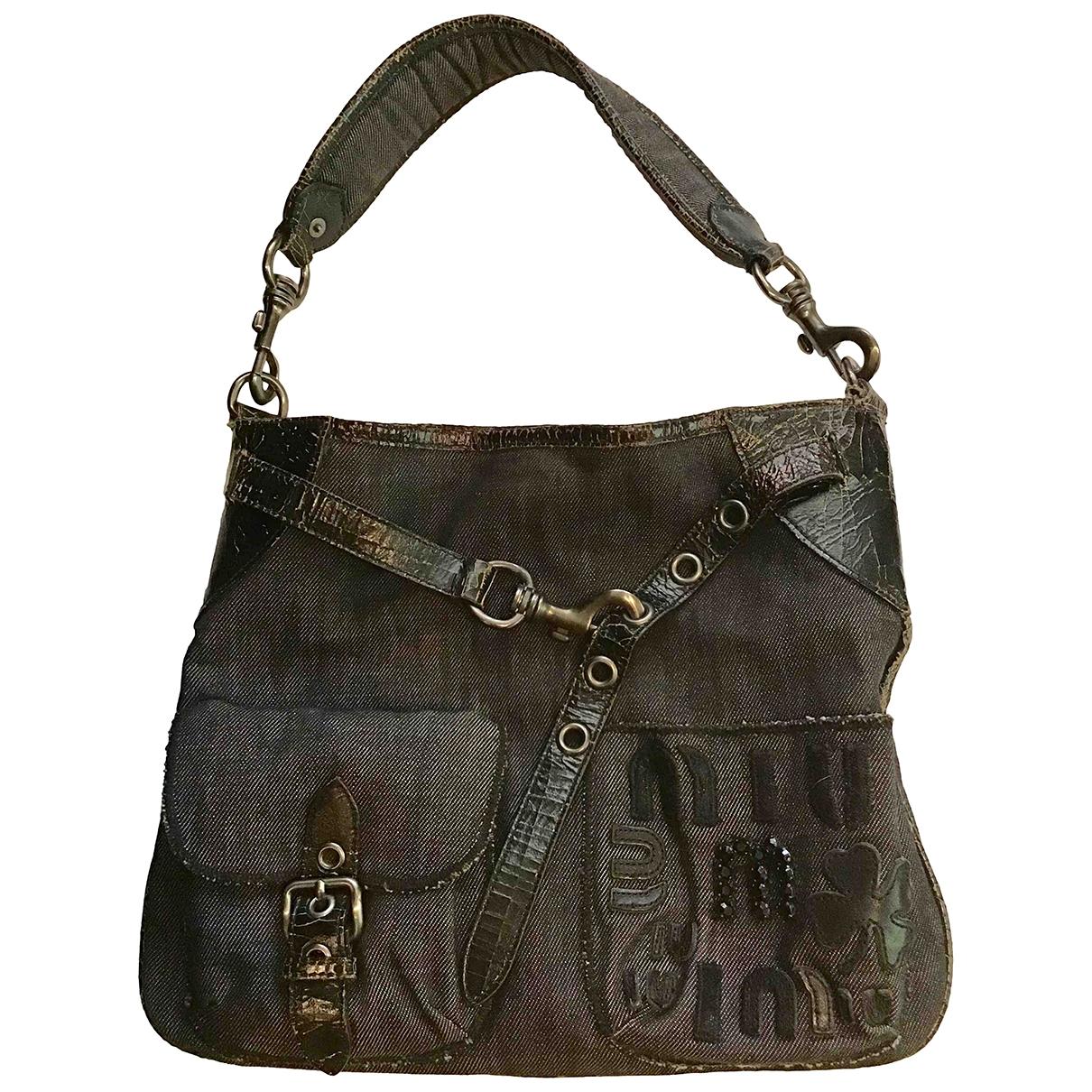 Miu Miu \N Grey Denim - Jeans handbag for Women \N