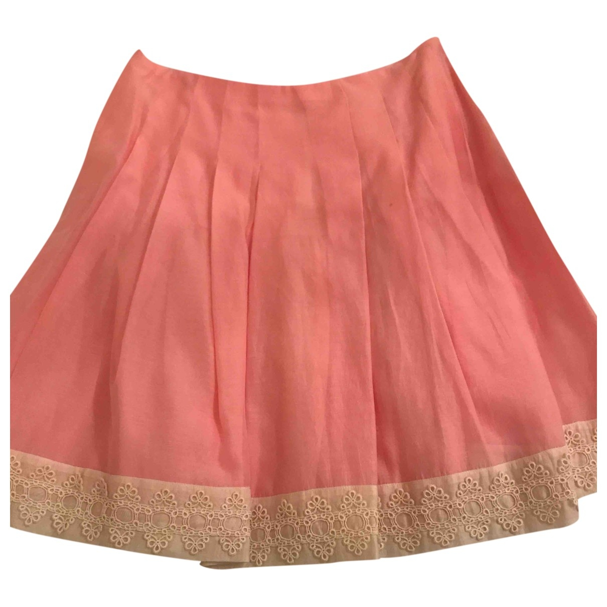 Blumarine - Jupe   pour femme en soie - rose