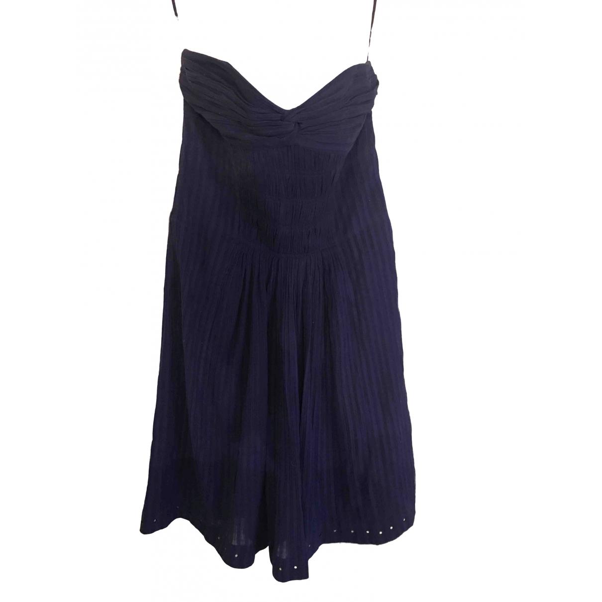 Isabel Marant Etoile \N Kleid in  Lila Baumwolle