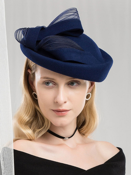 Milanoo Retro Hat Women Royal Hair Accessories Vintage Headpieces Halloween