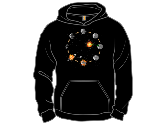 Life Cycle Of A Death Star T Shirt