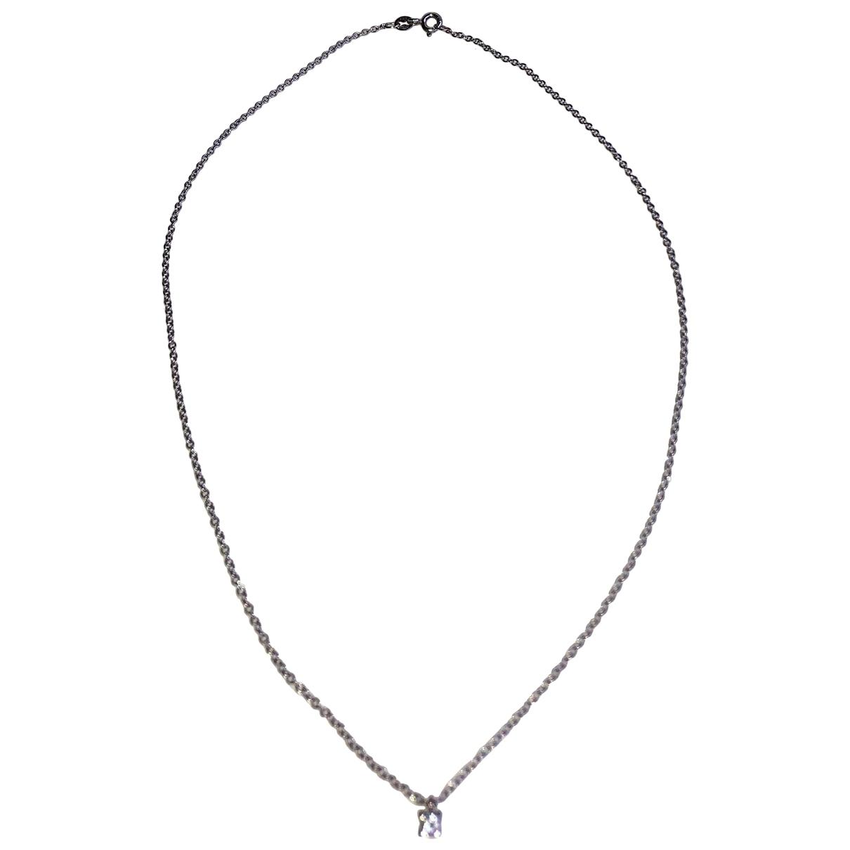 Luxury Fashion \N Kette in  Silber Weissgold