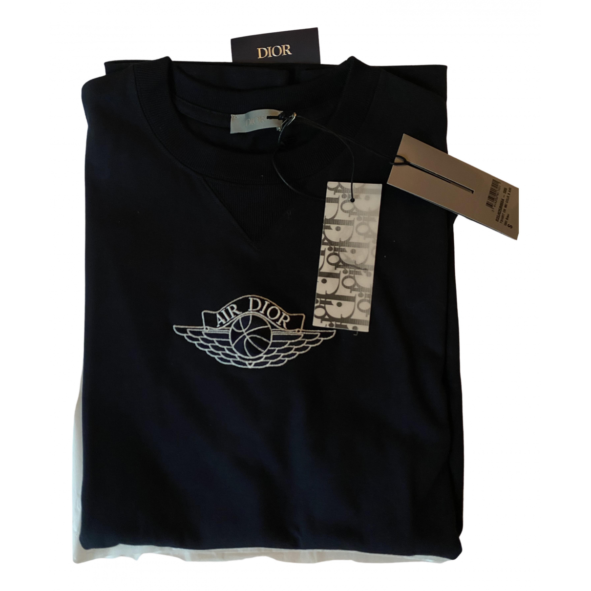 Jordan X Dior - Tee shirts   pour homme en coton - bleu
