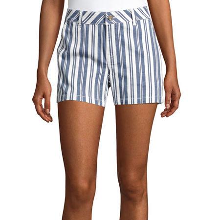 a.n.a Womens 3.5'' Chino Short, 18 , Blue
